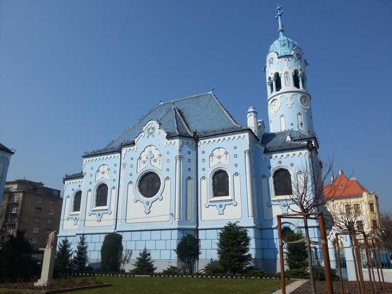 bratislava-Chiesa-Blu-di-Santa-Elisabetta-