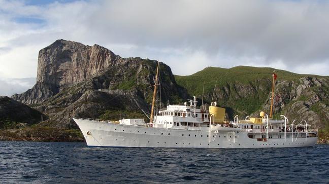 Kongeskipet Norge - yacht reale Norvegia
