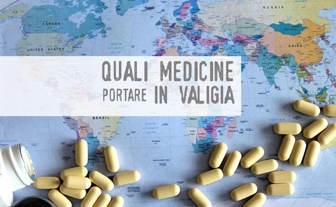medicine in valigia